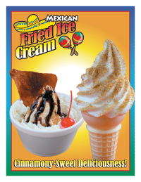soft serve flyer
